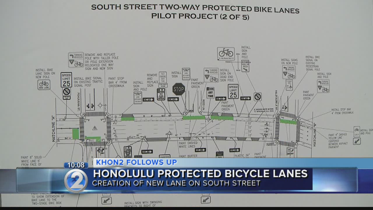 City hosts public protected bike lane discussion