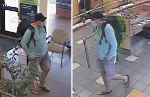 Police search for Kapolei bank robbery suspect who