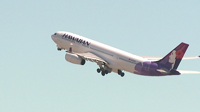 Hawaiian Airlines flights diverted due to weather