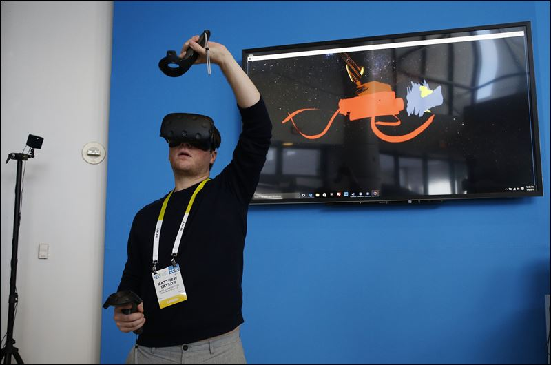 virtual reality CES 2016_137516