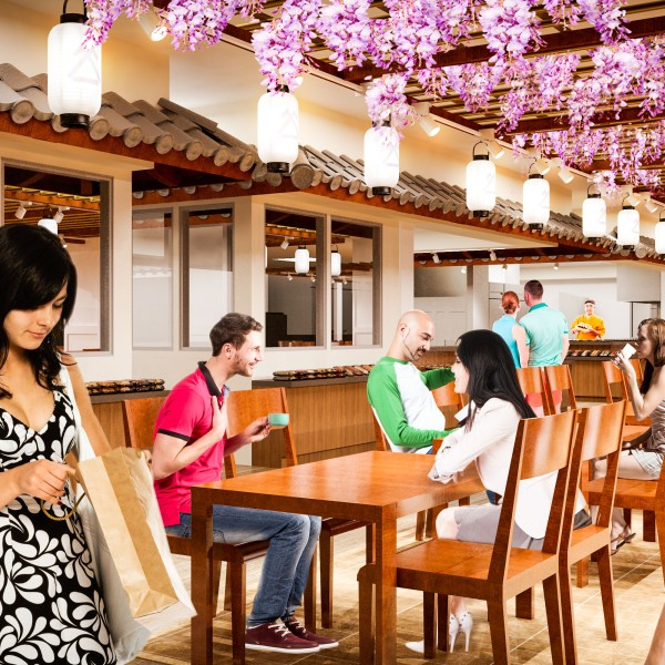Japan Village Walk rendering courtesy Shirokiya Holdings Inc_112010