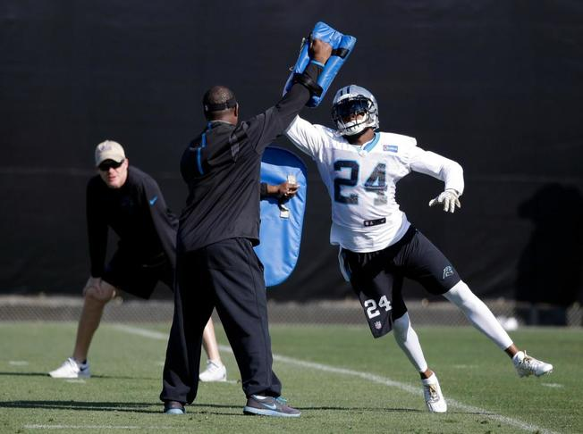 josh norman panthers super bowl practice_142002