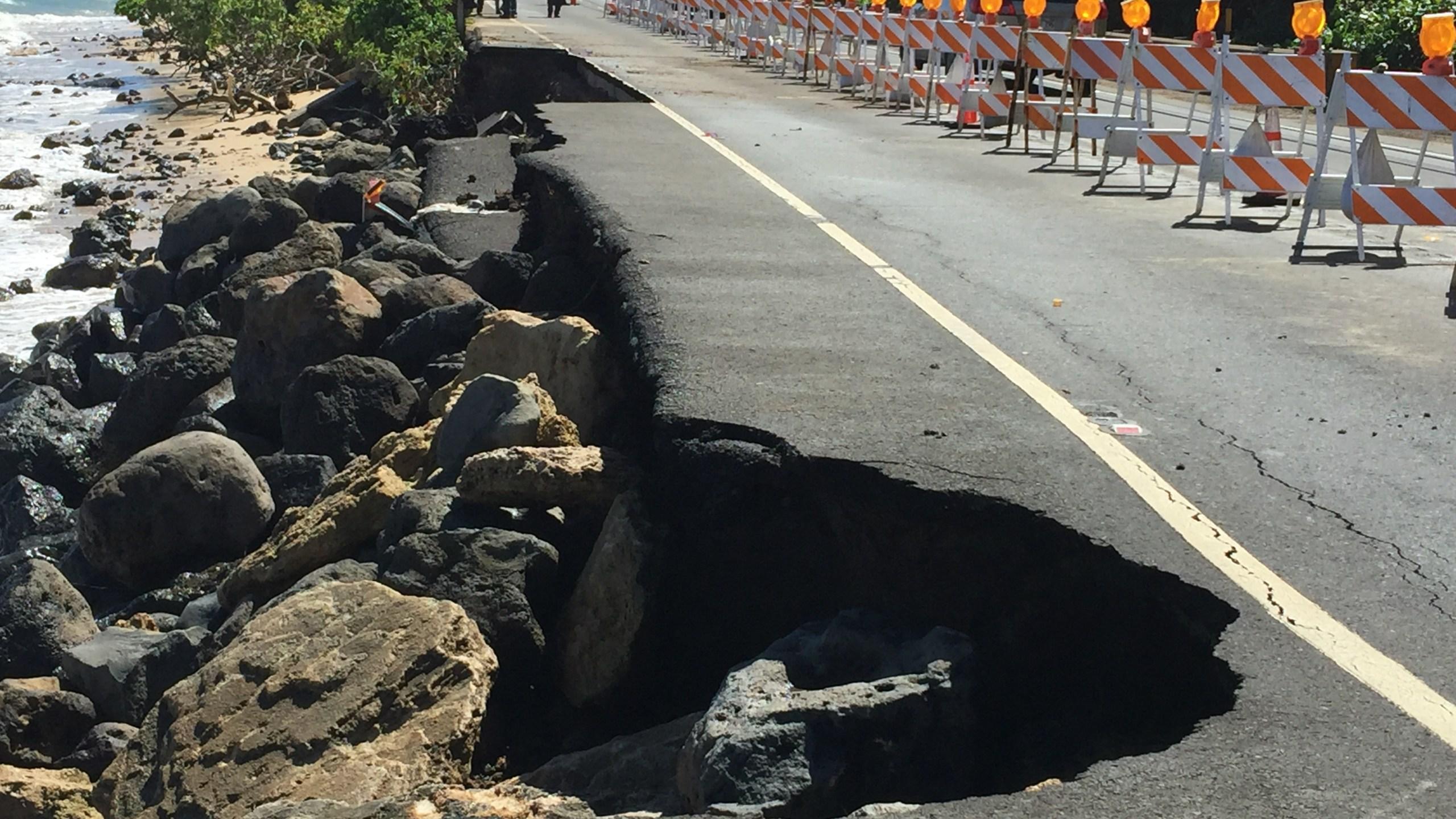 kaaawa kamehameha highway damage_142957