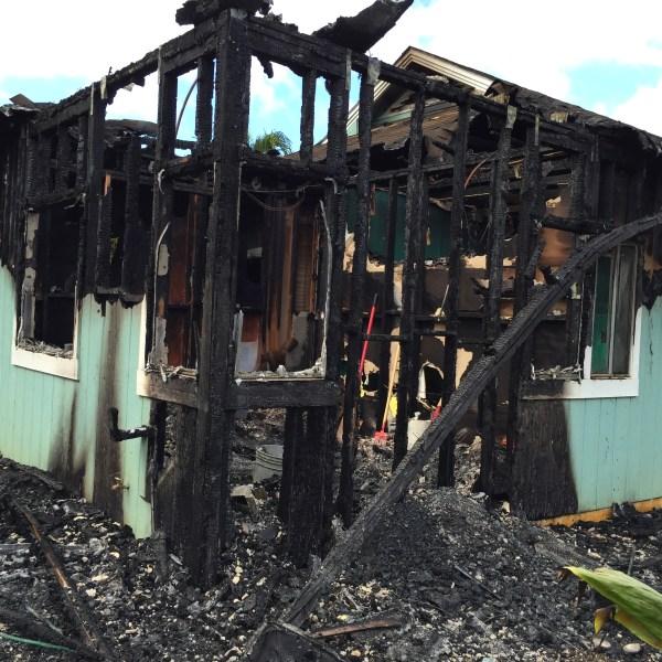 Kilauea House Fire_142696