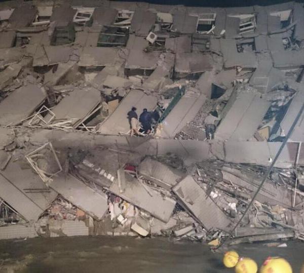 APTOPIX Taiwan Earthquake_141788