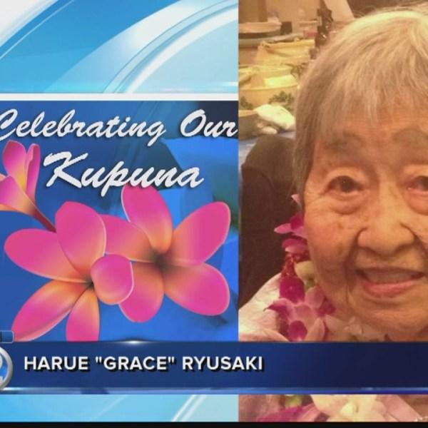 "Celebrating Our Kupuna: Harue ""Grace"" Ryusaki"