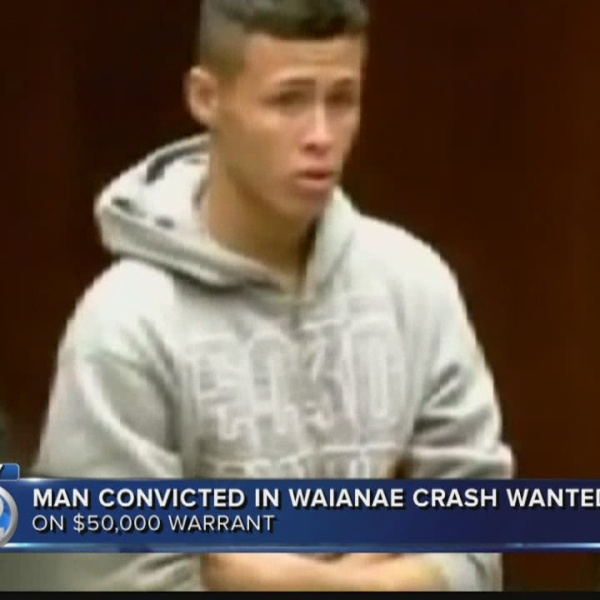 Bench warrant issued for driver in deadly 2013 crash near Makua Cave