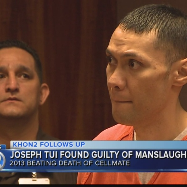 Man found guilty of manslaughter in death of OCCC cellmate
