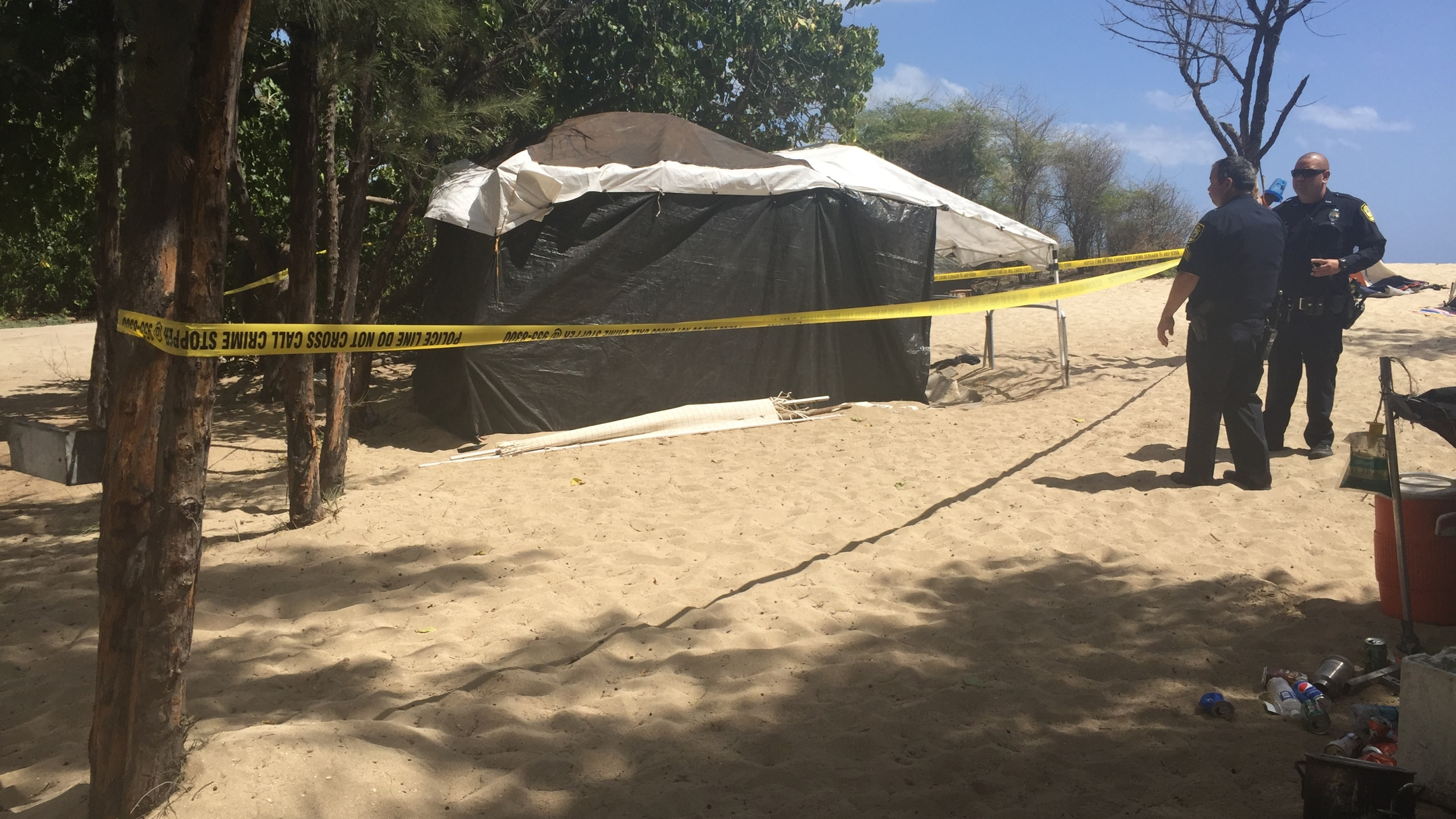kalaeloa beach crime scene_147325