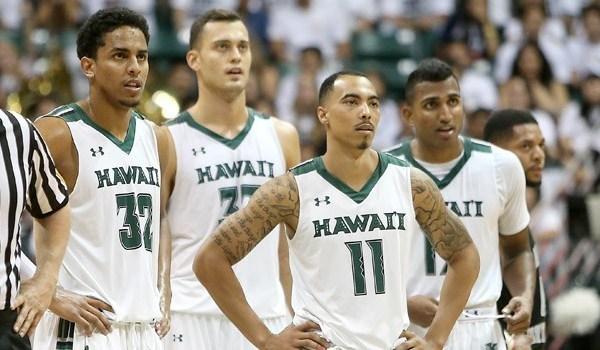 Rainbow Warrior Basketball Aaron Valdes ,Stefan Jankovic, Quincy Smith, Sai Tummala_145682