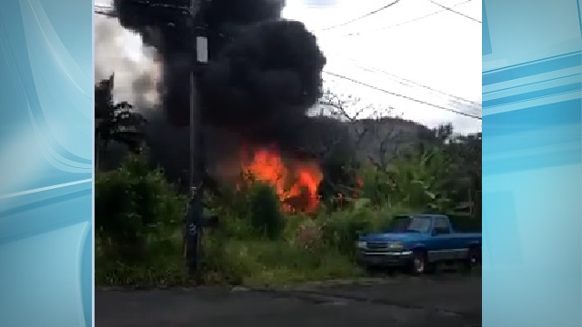 waimanalo fire home video_148934