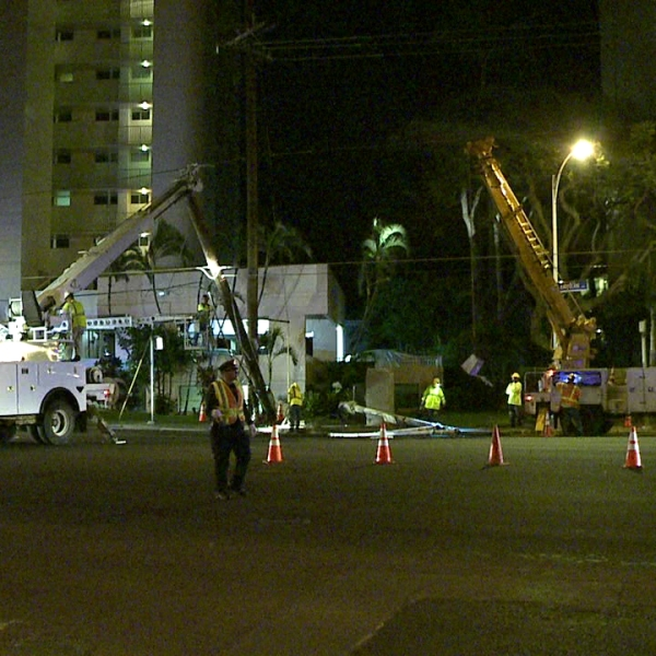 kapiolani blvd. repair work accident_152767