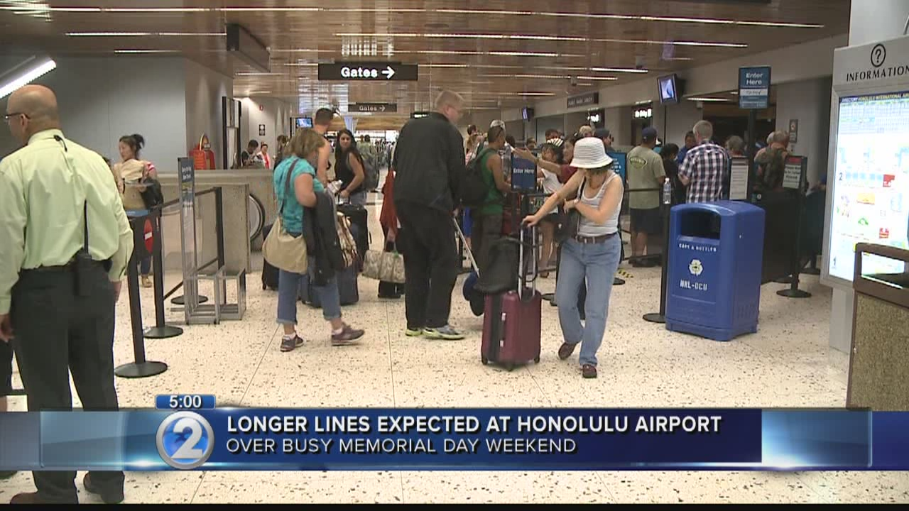 TSA changes could make long airport lines worse over Memorial Day weekend