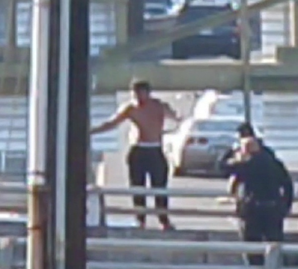 h-1 freeway overpass suspect home video edit_159716