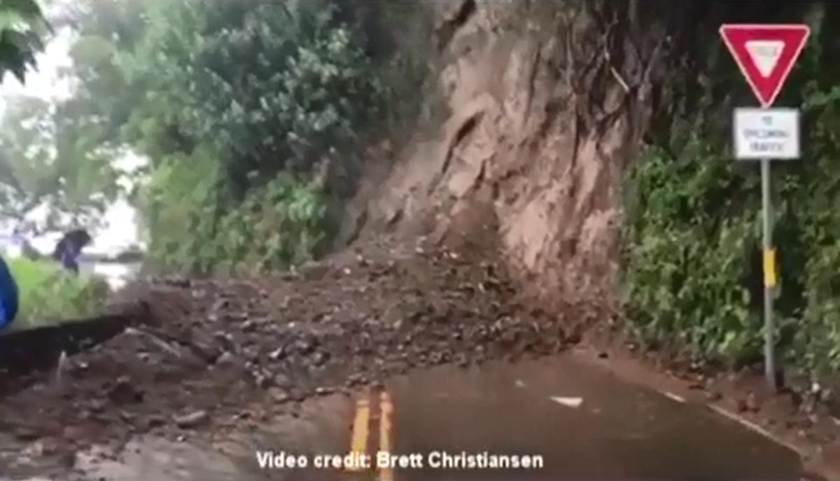 hana highway landslide maui now_156678