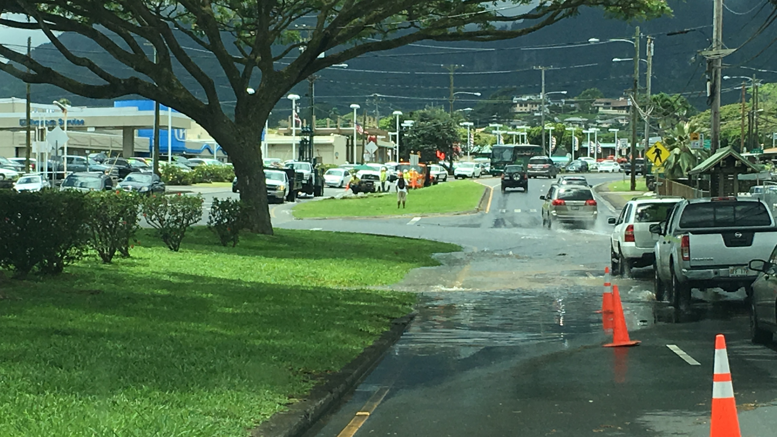 kaneohe water main break kamehameha hwy_157806