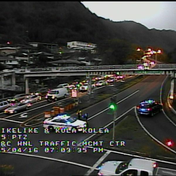 likelike highway closure_155641