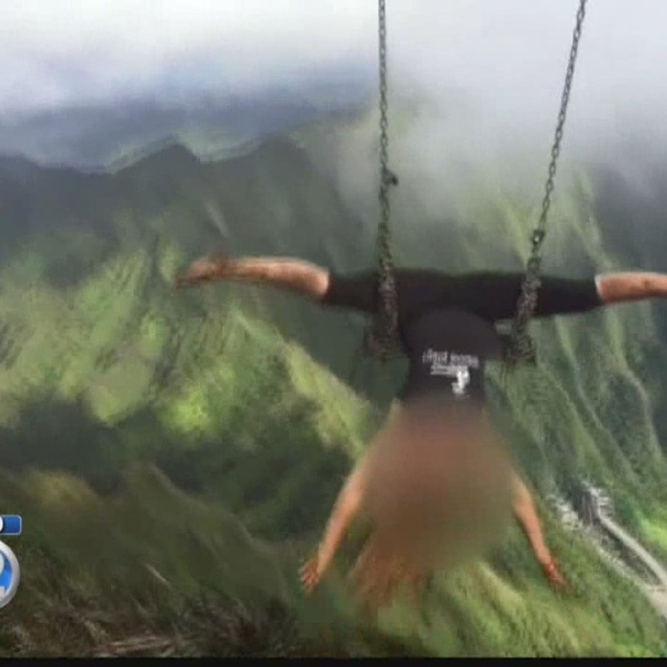 BWS explains costly plan to remove Haiku Stairs swing