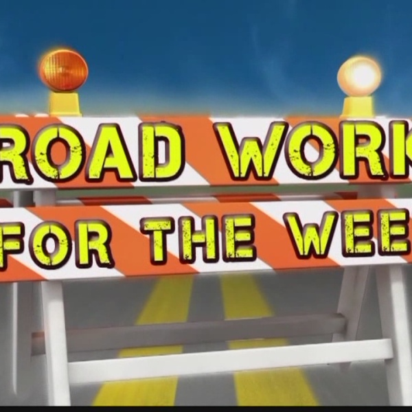 Road Work for the Week, June 12-17