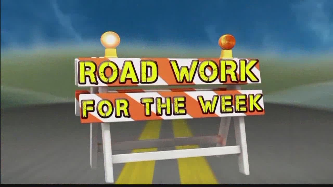Road Work for the Week, June 26-July 1