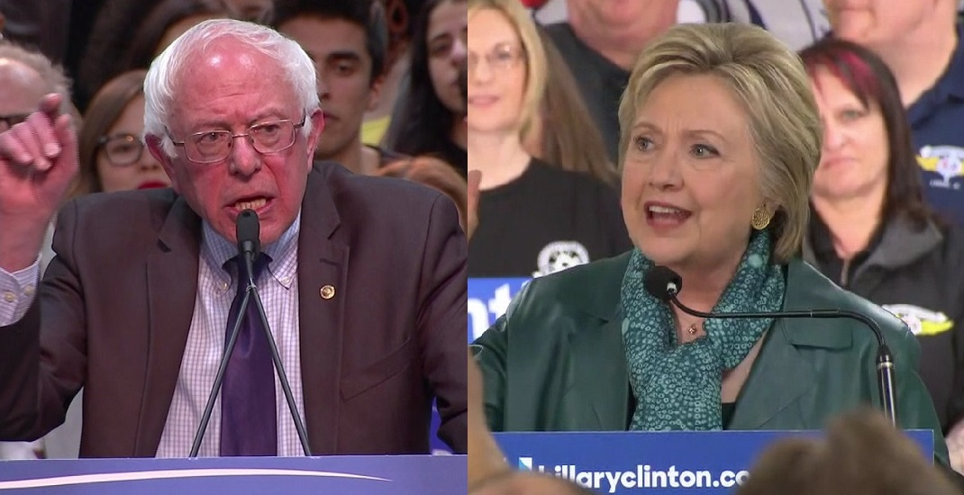 bernie sanders and hillary clinton_149060