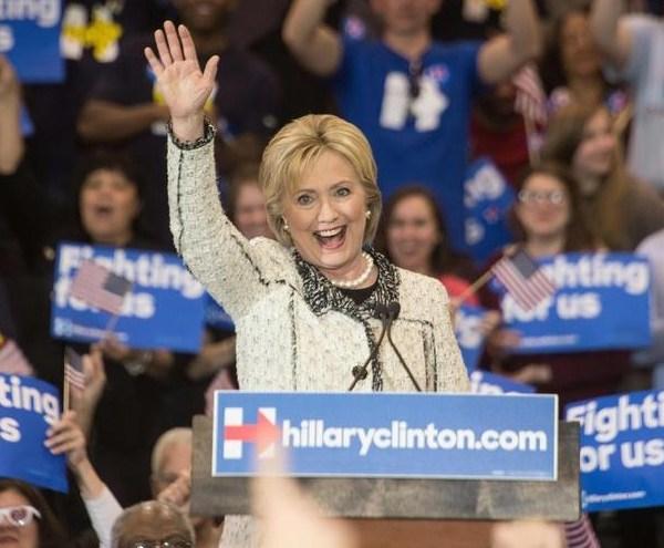 hillary clinton democratic nominee_160757