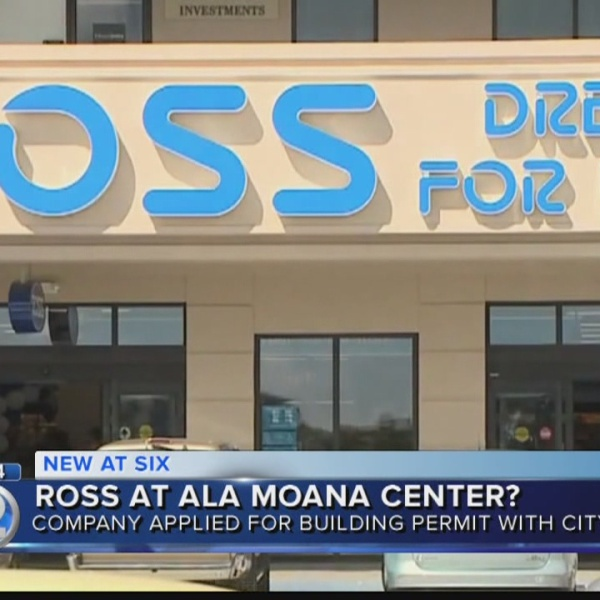 Ross Dress for Less applies for building permit at Ala Moana