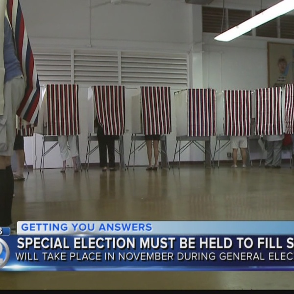 Hawaii to hold special election for vacant Congressional seat