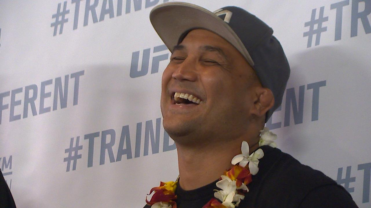 BJ PENN LAUGHING_168177