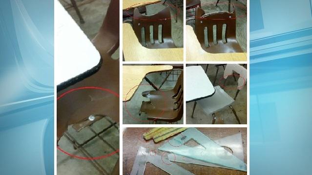 broken classroom chairs hsta_166980