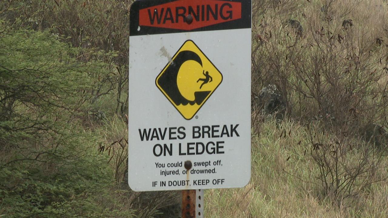 makapuu trail hike hazard sign waves_166744