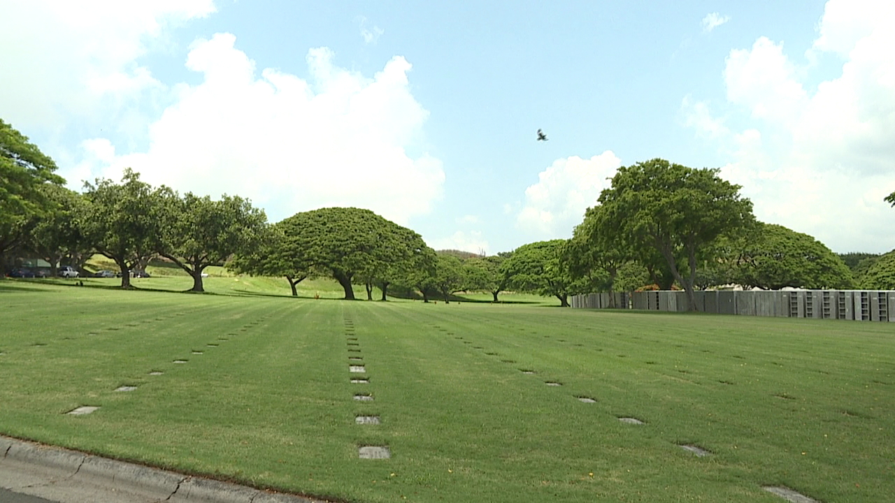 National Memorial Cemetery of the Pacific at Punchbowl_166918