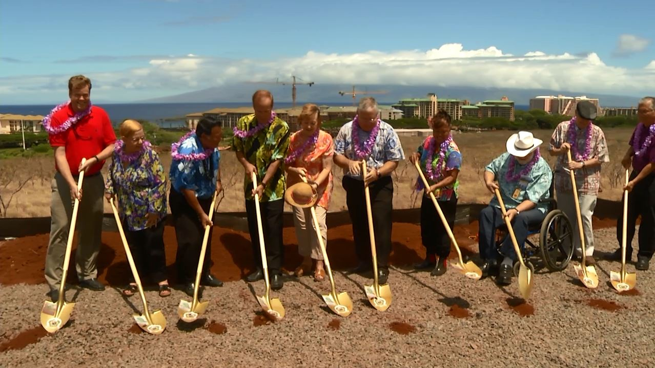 west maui hospital groundbreaking courtesy Hawaii Video Memories_170643