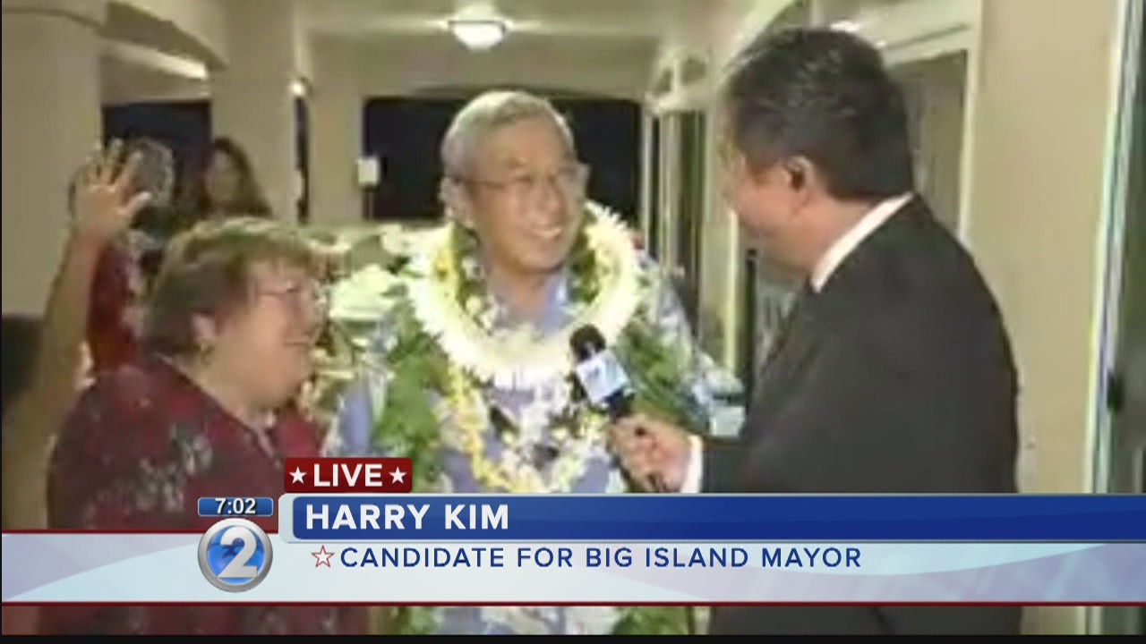 Hawaii Island mayoral candidate Harry Kim