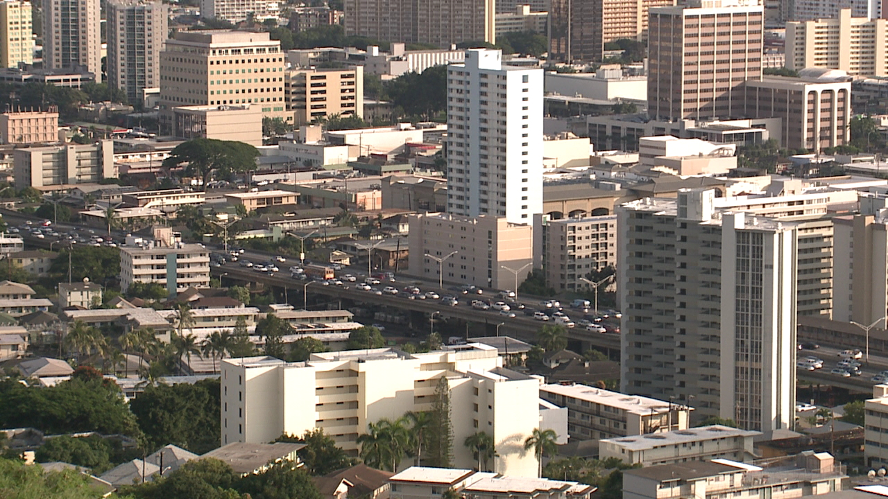 generic honolulu skyline buildings housing_169924
