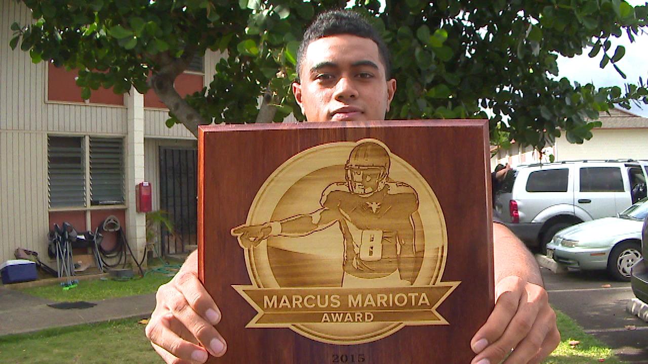 Vavae Malepeai Marcus Mariota Award_129905