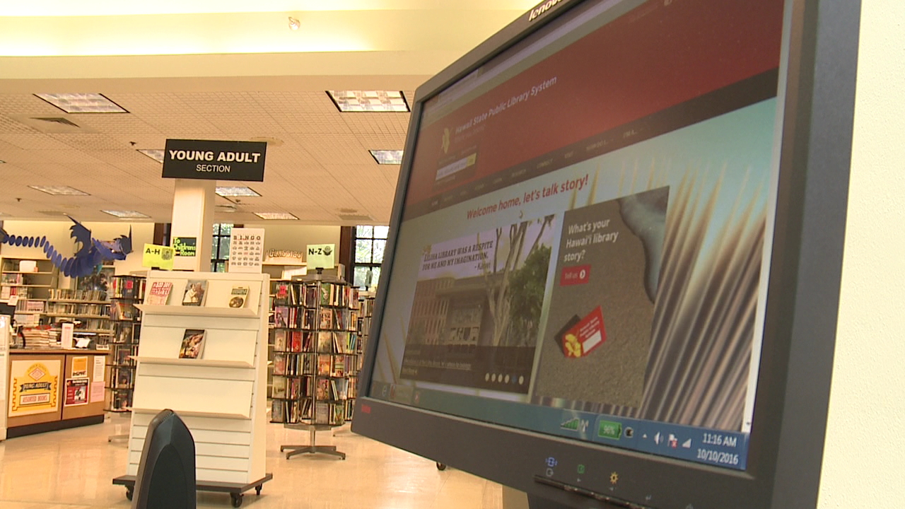 Hawaii State Public Library System Unveils New User Friendly Website