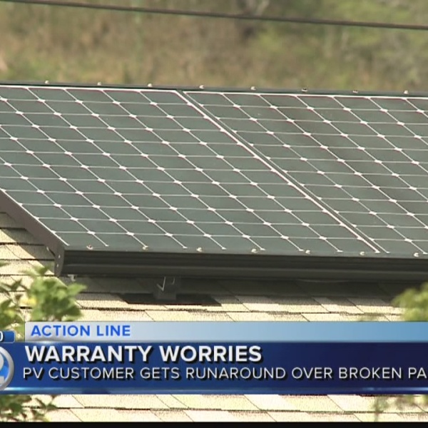 What can customers do if their solar company goes out of business?