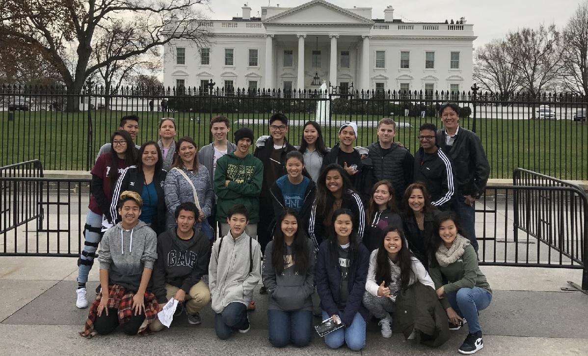 kaimuki christian white house tour exterior_200540