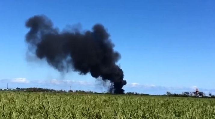 maui airport black smoke Carolena Pierce_202073