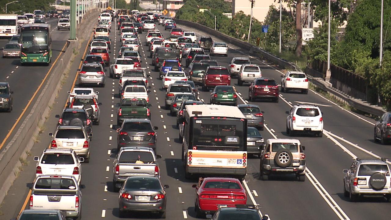 h-1 freeway ward traffic_209943