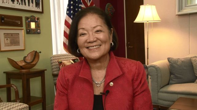 Senator Hirono speaks out against Trump administration allegedly doctoring map of Hurricane Dorian