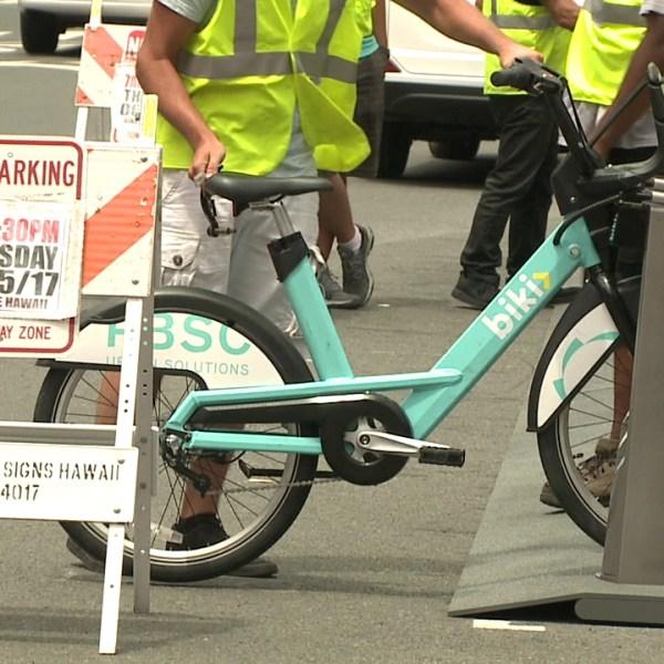 biki bikeshare hawaii bicycle station_213225
