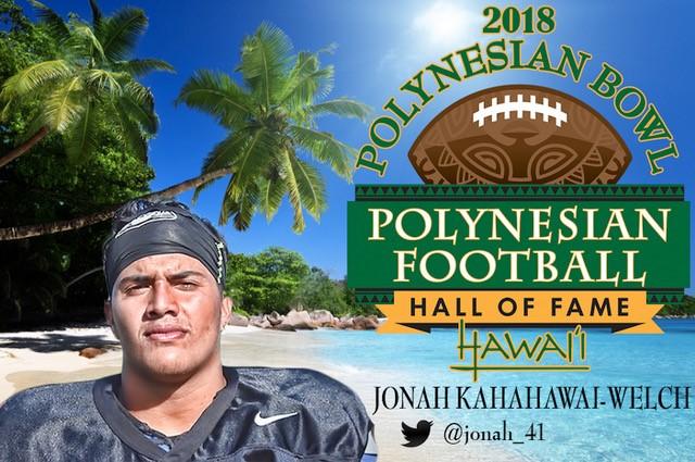 Kamehameha's Kahahawai-Welch invited to Polynesian Bowl