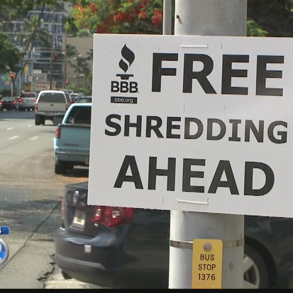 Document shredding available during Better Business Bureau's Secure Your ID Day