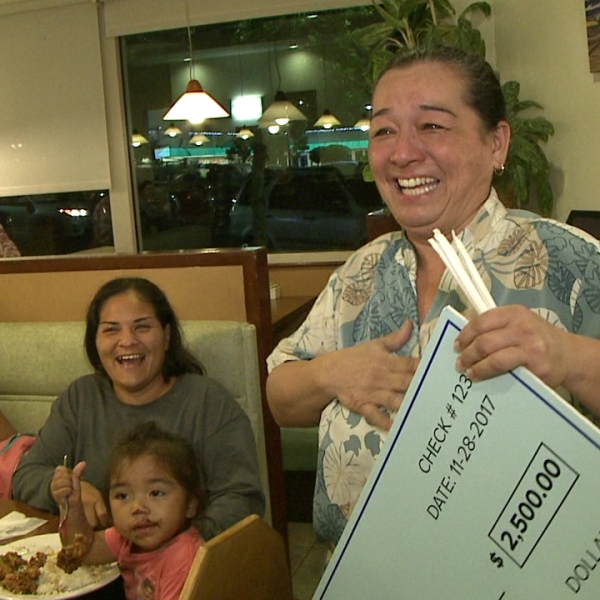 The Big Give: Hattie Kawaihalau