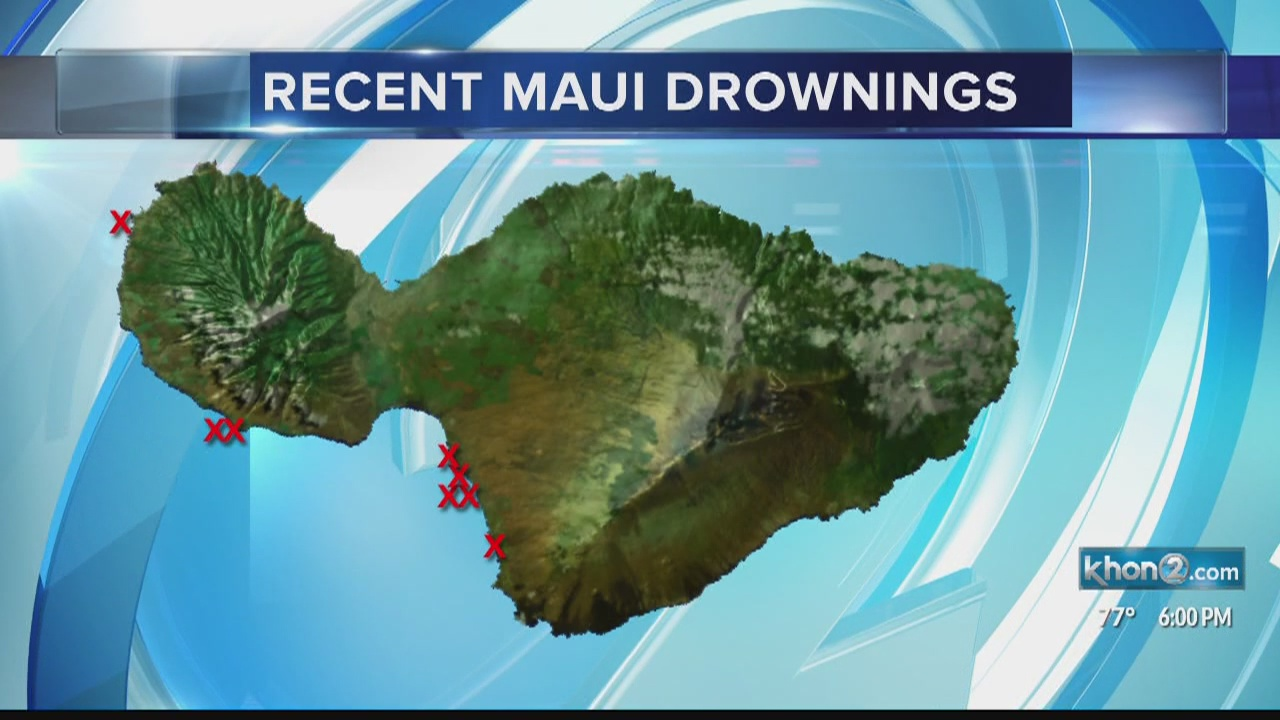 Maui waters claim eight lives in two weeks