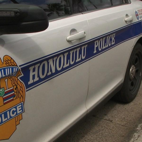 honolulu police hpd patrol car_240250