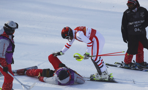 Pyeongchang Olympics Alpine Skiing_242009