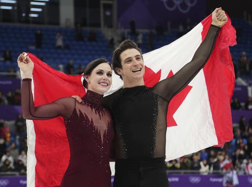 Pyeongchang Olympics Figure Skating Ice Dance_242600